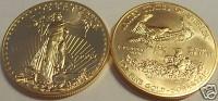 1 oz Gold USA American Eagle 1988