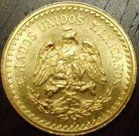 2 Mex. Pesos ( 1,5 Gramm Gold fein )