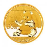3 Gramm Gold Panda in Folie - 50 Yuan