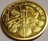 1/10 oz Gold Philharmonker