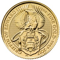 "1/4 oz Gold Royal Mint / United Kingdom "" Griffin """