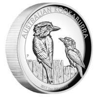 1 oz Silber Kookaburra High Relief 2017 Perth Mint ( diff.besteuert nach §25a UStG )