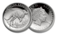 1 oz Silber Kangaroo High Relief 2017 Perth Mint ( diff.besteuert nach §25a UStG )