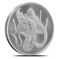"1 oz Silber "" Indian Dragon "" - Serie World of Dragons 5te Ausgabe ( 19% Mwst )"