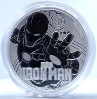 """1 oz Silber Perth Mint """" Ironman - Marvel Comics """" in Kapsel - max Mintage 50.000 ( diff.besteuert nach §25a UStG )"""