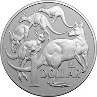 """1 oz Silber Australien """" Kangaroo Beijing Coinshow / Panda """" in Kapsel 2019 - max. 5.000 Stk ( diff.besteuert nach §25a UStG )"""