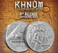 "2 oz Silber Ultra High Relief "" Khnum  "" 4te Ausgabe ( inkl. 19% Mwst )"
