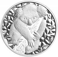 1 oz Silber Koala 2007 in Slab NGC UNC ( diff.besteuert nach §25a UStG )