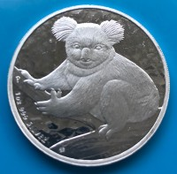 1 oz Silber Koala 2009 / II.Wahl ( diff.besteuert nach §25a UStG )