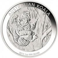 1/2 oz Silber Koala 2013 ( diff.besteuert nach §25a UStG )