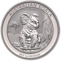 1 oz Silber Koala 2017 ( diff.besteuert nach §25a UStG )