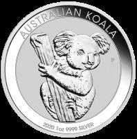 1 oz Silber Koala 2020 ( diff.besteuert nach §25a UStG )