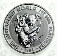 1 oz Platin Perth Mint Koala 1994 ( diff.besteuert nach §25a UStG )