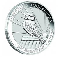 1 oz Silber Kookaburra 2020 ( diff.besteuert nach §25a UStG )