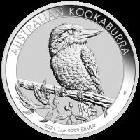 1 oz Silber Kookaburra 2021 ( diff.besteuert nach §25a UStG )