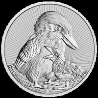 10 oz Silber Perth Mint Piedfort Kookaburra with Baby 2020 ' Next Generation Series - max. 2500 '  ( diff.besteuert nach §25a UStG )