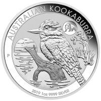 "1 oz Silber Kookaburra 2019 "" Privy Mark Panda "" - Peking Coin Show - max. 8000 Auflage  ( diff.besteuert nach §25a UStG )"