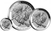10 oz Silber Kookaburra gute Qualität div Jahrgang ( diff.besteuert nach §25a UStG )