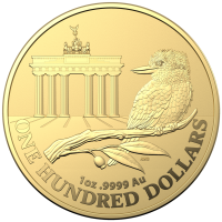 "1 oz Gold Kookaburra "" Brandenburg Gate "" 2020 - Royal Australian Mint ( max 100 Stk )"