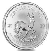 1 oz Silber Krügerrand 2019 / 2020 ( diff.besteuert nach §25a UStG )