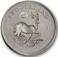 """1 oz Silber Krügerrand """" South African Mint  Chinese Great Wall """" - max 5.000 für asiatischen Markt ( diff.besteuert nach §25a UStG )"""