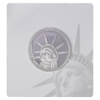 1,5 oz Silber Proof Pamp Suisse Lady Liberty - 4 Dollar Salomon Islands ( diff.besteuert nach §25a UStG )