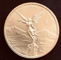 1 oz Gold Mexiko Libertad BU 2020 ( Auflage müsste 1100 sein )