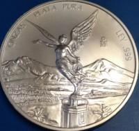 5 oz Silber Libertad Mexiko ( mixed years ) ( diff.besteuert nach §25a UStG )
