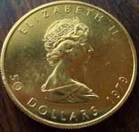 1 oz Gold Maple Leaf div. Jahre / ggf. altersbedingt opt. Mangel