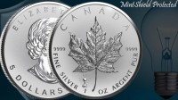 "1 oz Silber Maple Leaf Reverse Proof "" Privy Mark Edison / Light Bulb "" - max 50.000 Mintage ( diff.besteuert nach §25a UStG )"