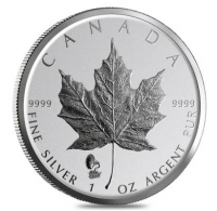 "1 oz Silber Maple Leaf Reverse Proof "" Privy Mark Edison / Phonograph "" - max 50.000 Mintage ( diff.besteuert nach §25a UStG )"