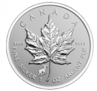 "1 oz Silber Maple Leaf Reverse Proof "" Privy Mark Sheep  "" ( diff.besteuert nach §25a UStG )"