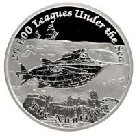 1 oz Silber Proof Perth Mint Famous Ships Nautilus - max.3000 ( inkl. gültiger gesetzl. Mwst )