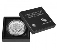 "5 oz Silber USA "" America the beautiful "" Nebraska - Homestead uncirculated /  "" Sammlerausgabe "" inkl.Box ( diff.besteuert nach §25a UStG )"