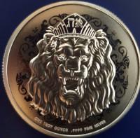 "1 oz Silber Niue "" Roaring Lion 2020 "" ( diff.besteuert nach §25a UStG )"