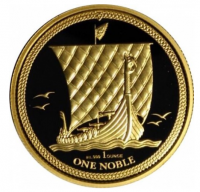 "1 oz Gold Isle of man "" Noble 2018 "" - max Auflage 100"