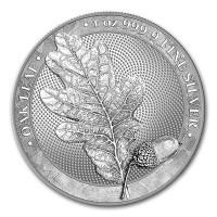 1 oz Silber - 5 Mark Oak Leaf BU 2019 - max. 50.000  - ( inkl. gültiger gesetzl. Mwst )