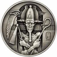 2 oz Silber Ultra High Relief Osiris Antique Finish ( inkl. gesetzl. Mwst )