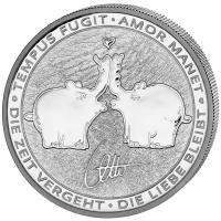 "1 oz Silber Perth Mint Tuvalu "" Ottifanten 2020 "" in Kapsel  ( diff.besteuert nach §25a UStG )"
