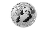 30 Gramm Silber China Panda 2020 ( diff.besteuert nach §25a UStG )