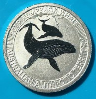 1/3 oz Platin Wal Perth Mint