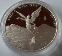5 oz Silber Proof Libertad Mexiko ( random / div / mixed years ) ( diff.besteuert nach §25a UStG )