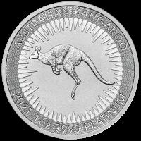 1 oz Platin Perth Mint Känguru Neuware ( diff.besteuert nach §25a UStG )