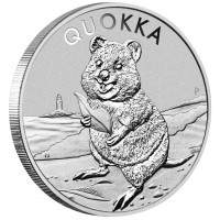 "1 oz Silber Australien Perth Mint "" Quokka "" in Kapsel 2020 - max. 30.000 Stk ( diff.besteuert nach §25a UStG )"