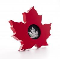 1 oz Silber Proof Canada Cut Out Maple Leaf 2015 inkl. Box  ( inkl. gültiger gesetzl. Mwst )