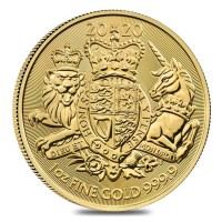 "1 oz Gold Royal Mint / United Kingdom "" Royal Arms 2020 """