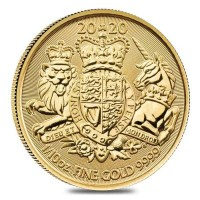 """1/10 oz Gold Royal Mint """" Royal Arms 2020 """" - erste Ausgabe"""