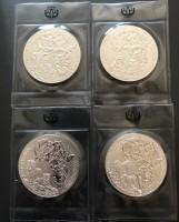 1 oz Silber Ruanda Gorilla / Elefant / Löwe / Zebra  ( diff.besteuert nach §25a UStG )
