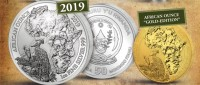 1 oz Silber Ruanda Schuhschnabel 2019 Proof inkl. COA  ( inkl. gültiger gesetzl. Mwst )