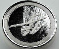"1 oz Silber St. Vincent & the Grenadines "" Seaplane "" Scottsdale Mint / Prooflike in Kapsel ( diff.besteuert nach §25a UStG )"